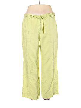 Sigrid Olsen Linen Pants Size 16