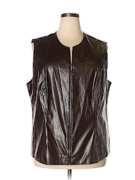 Maggie Barnes Vest Size 2X (Plus)