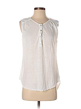 Velvet Short Sleeve Henley Size XS