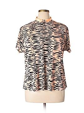 Jamie Sadock Short Sleeve Henley Size XL (Plus)