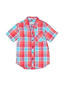 Sovereign Code Short Sleeve Button-Down Shirt Size 4