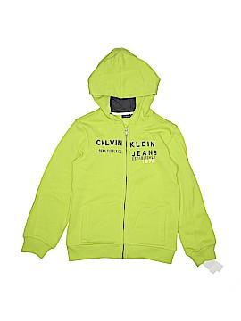 CALVIN KLEIN JEANS Zip Up Hoodie Size 7