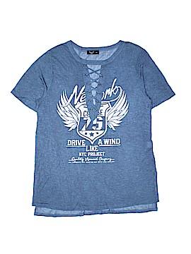 Love-J U.S.A. Short Sleeve T-Shirt Size 1X (Plus)