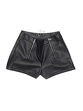 Trafaluc by Zara Faux Leather Shorts Size M
