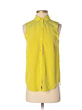 Club Monaco Sleeveless Silk Top Size XS