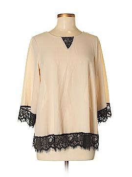 U-Knit 3/4 Sleeve Blouse Size M