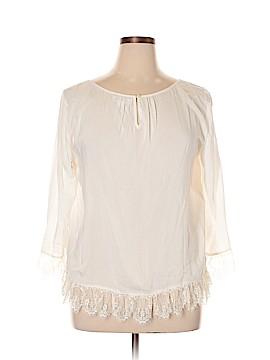 Velvet by Graham & Spencer 3/4 Sleeve Blouse Size XL