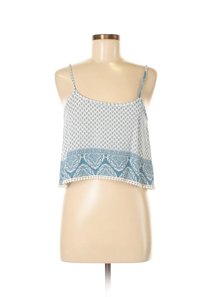Mona B Women Sleeveless Blouse Size S