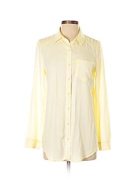 Rubbish Long Sleeve Button-Down Shirt Size XS