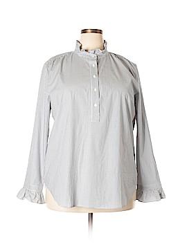 Ann Taylor Long Sleeve Button-Down Shirt Size XXL