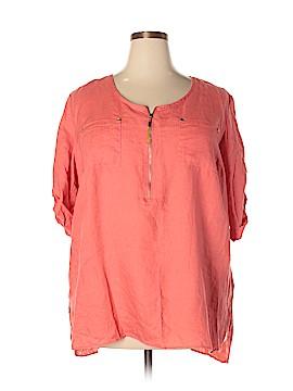 Ellen Tracy 3/4 Sleeve Blouse Size 2X (Plus)