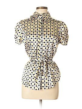 Vertigo Paris Short Sleeve Blouse Size M