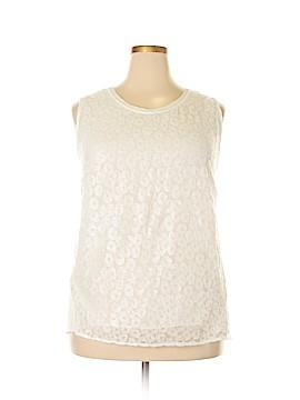 Covington Sleeveless Blouse Size 3X (Plus)