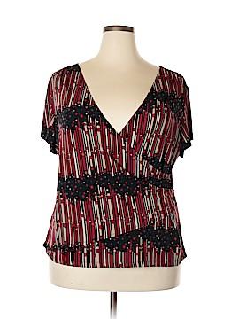 Serenade Short Sleeve Top Size 2X (Plus)