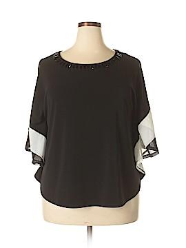 Draper's & Damon's 3/4 Sleeve Top Size XL