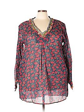 Velzera 3/4 Sleeve Blouse Size 3X (Plus)