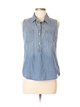 Feed USA + Target Sleeveless Button-Down Shirt Size M