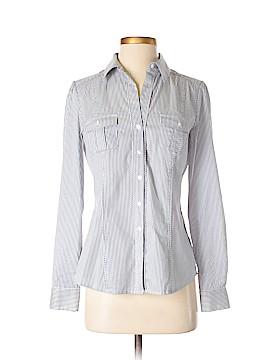 White House Black Market Long Sleeve Button-Down Shirt Size 2
