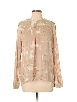 Valette Long Sleeve Silk Top Size S
