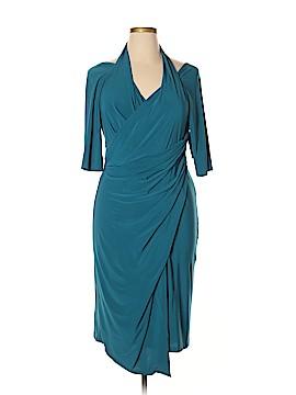 Kiyonna Casual Dress Size XL (Plus)