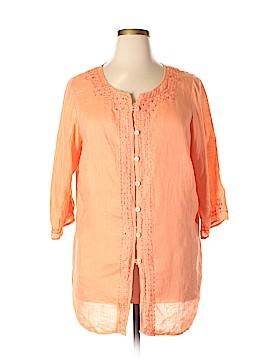 Avenue 3/4 Sleeve Blouse Size 16 (Plus)