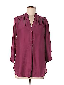 Bellatrix Long Sleeve Silk Top Size S