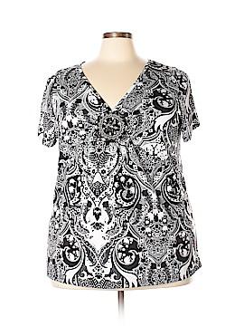 Lavish Short Sleeve Top Size 3X (Plus)