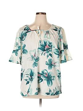 JunaRose Short Sleeve Blouse Size 16 (Plus)