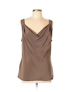 Escada Sleeveless Silk Top Size 44 (EU)