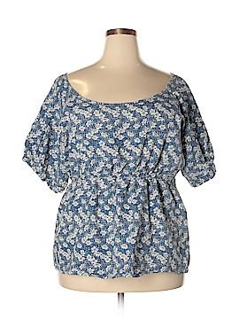 Company One Short Sleeve Blouse Size 2X (Plus)