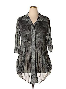 Lindi 3/4 Sleeve Blouse Size XL