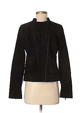New York & Company Leather Jacket Size S