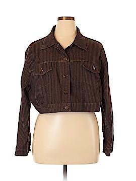 NY Invasion Denim Jacket Size 3X (Plus)