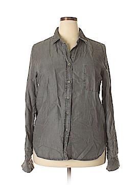 Velvet Heart Long Sleeve Button-Down Shirt Size XL