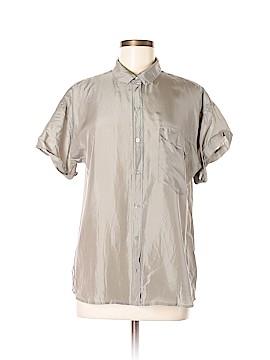 Everlane Short Sleeve Silk Top Size L