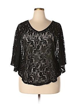 Trixxi Short Sleeve Blouse Size 2X (Plus)