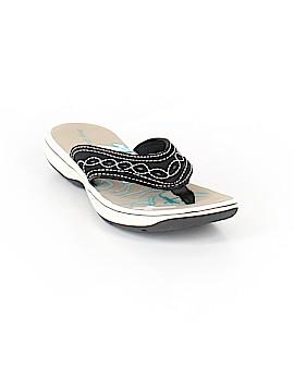 Easy Street Flip Flops Size 7