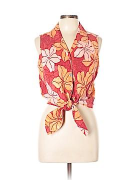 Tommy Bahama Sleeveless Silk Top Size 12 - 14