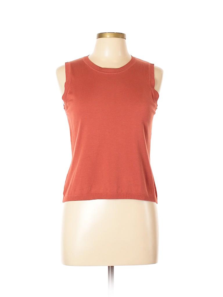 August Silk Women Pullover Sweater Size L (Petite)