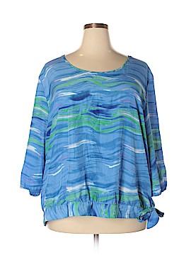 Cato 3/4 Sleeve Blouse Size 26/28 (Plus)