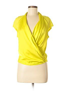 Bebe Short Sleeve Blouse Size M