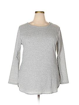 Fleurette Long Sleeve Top Size 3X (Plus)