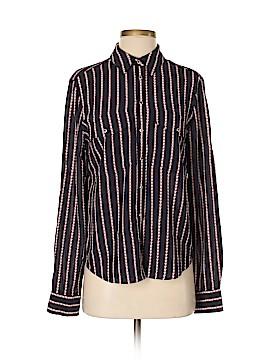 Veronica Beard Long Sleeve Silk Top Size 4