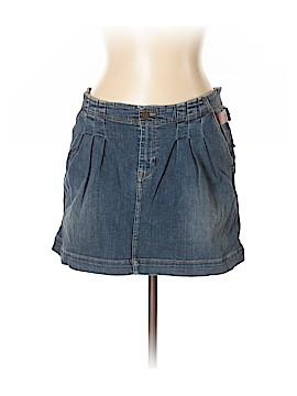 Burberry Brit Denim Skirt Size 10