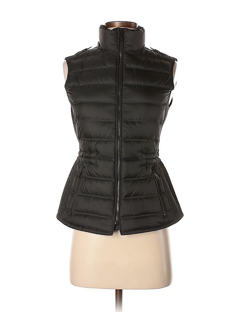 c4fcb80ec15cb Burberry Brit 100% Polyester Solid Black Vest Size XS - 44% off ...