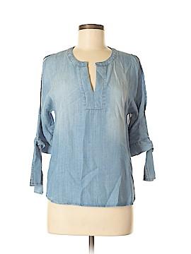 Blue Rain Short Sleeve Blouse Size XS