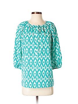 Aqua 3/4 Sleeve Blouse Size S