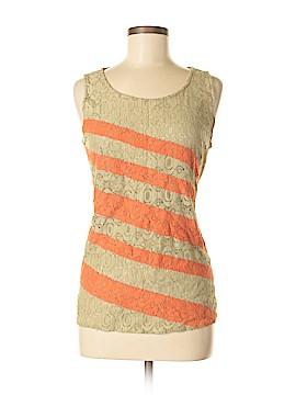 Hem & Thread Sleeveless Top Size M