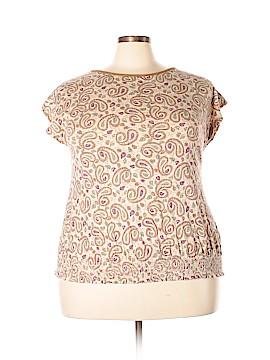 Lauren Jeans Co. Short Sleeve Top Size XL