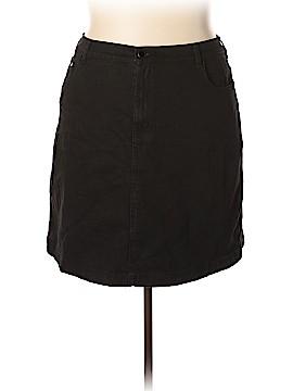 DG^2 by Diane Gilman Denim Skirt Size 18 (Plus)